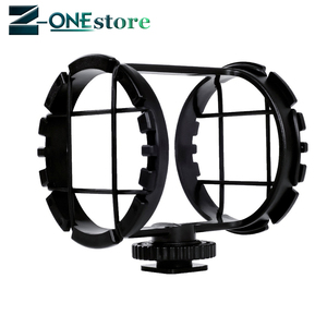 """Image 1 - BOYA BY C03 Camera Shoe Shockmount for Microphones 1"""" to 2"""" in Diameter (Fits the Zoom H1)"""