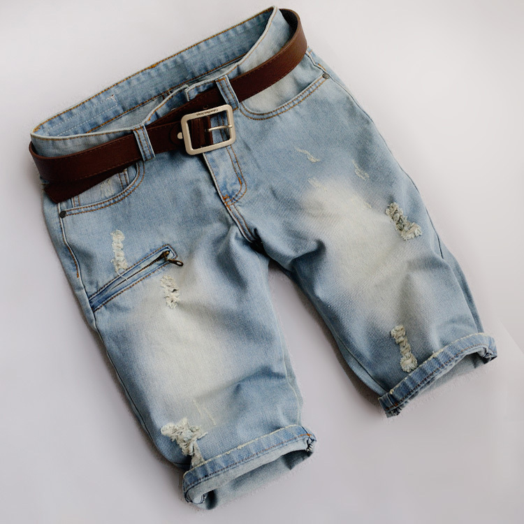Aliexpress.com : Buy 2017 Summer style men denim shorts ripped ...