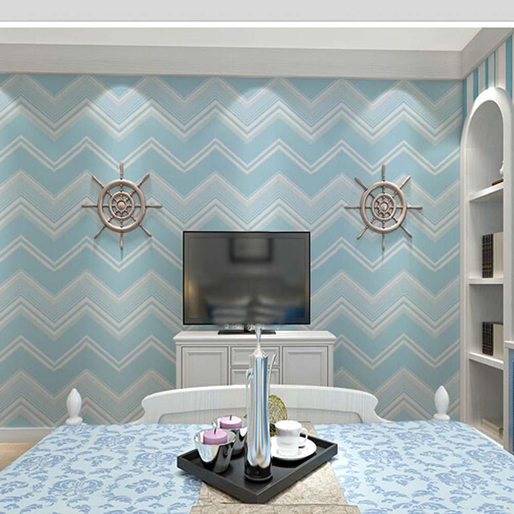 Stripe Wave Wood Wallpapers Pvc Self Adhesive Vinyl Wallpaper  # Muebles Furniture