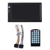 2 Din Car Stereo Radio 7 inch HD MP5 Player Touch Screen Bluetooth FM Multimedia USB Autoradio Car Backup Monitor Support Camera