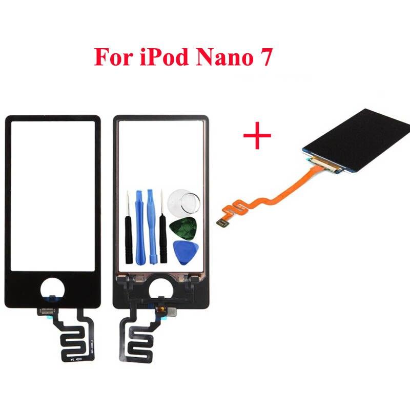 Corrientes camello LCD pantalla táctil pantalla digitalizador Panel táctil para iPod Nano 7 7th