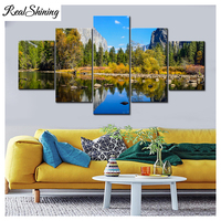 diamond Painting for Living Room Natural Scenery diamond embroidery Landscape mosaic full drill Pictures Modular Painting FS6009