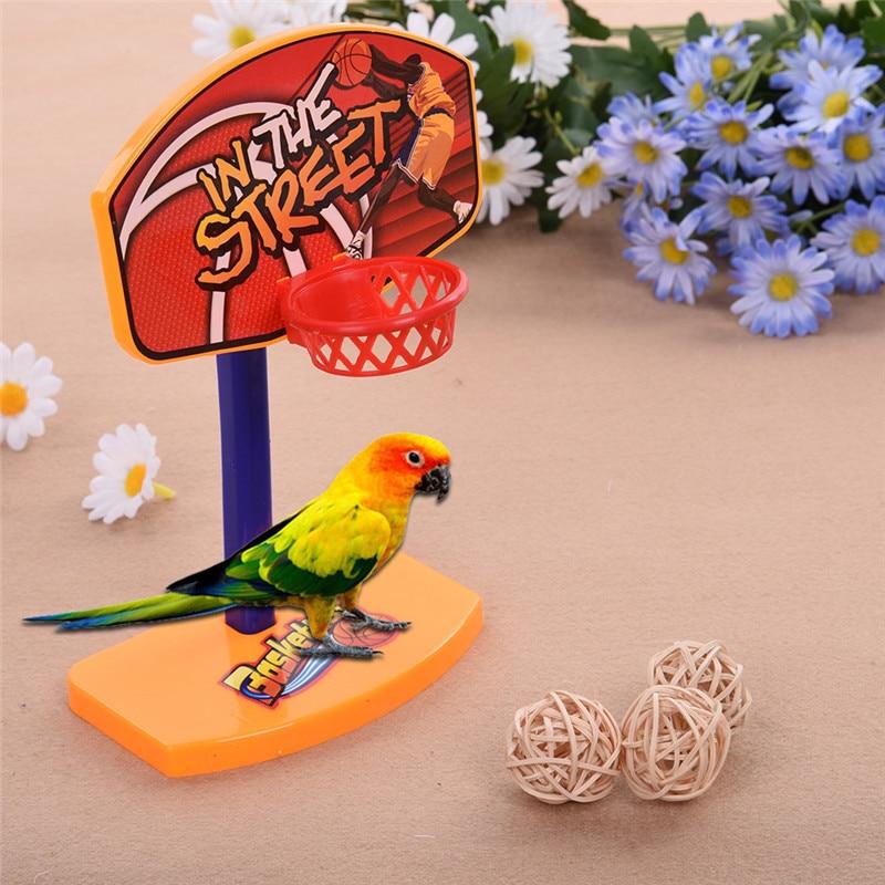 Parrots Mini Basketball Hoop Parrot Puzzle Toys Props Newest 2017