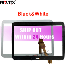 "Купить с кэшбэком 1Pcs Touch Panel for Samsung Galaxy Tab 3 P5200 P5210 P5220 10.1"" Screen Tablet Glass Replacement"
