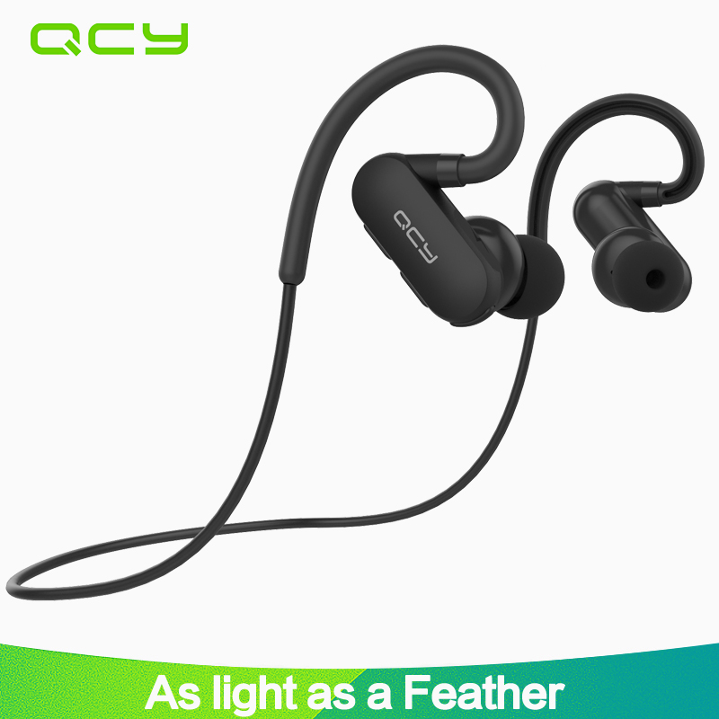 2017 QCY QY31 ear hook sports earbuds running wireless headphones bluetooth stereo earphone IP4X waterproof headset with mic цена 2017