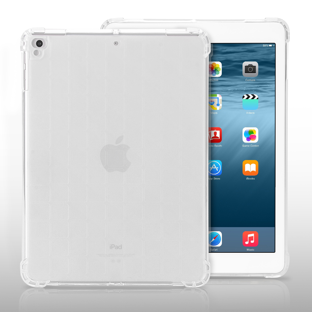 Soft TPU Case For iPad 9.7 2017 2018 Silicone Transparent Back Cover For iPad 5 6 Shockproof Case Cover For New ipad 9.7 transparent tpu silicone back cover for new ipad 2017 model a1822 tablet cover for funda new ipad 2017 capa para stylus pen