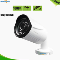 IMX323 CMOS 2MP/1080P High Resolution Hybrid Camera support AHD/CVI/TVI/CVBS Output 4 IN 1 with 18pcs SMT IR Leds AS MHD8204R4T