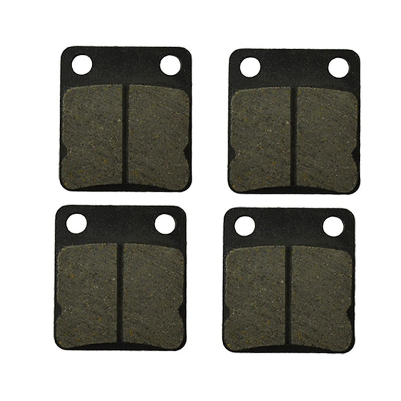 2 Pairs Motorcycle Brake Pads for YAMAHA ATV YFM 250 YFM250 Bruin 2005-2006 Black Brake DIsc pad 2 pairs motorcycle brake pads for yamaha fzr 750 fzr750 genesis 1987 1988 sintered brake disc pad