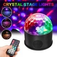 Smuxi 9 W Bluetooth LED Boule Disco Lumière Télécommande Musique Ball Stade Effet Soundlights DJ Projet Magique Laser Partie lumières