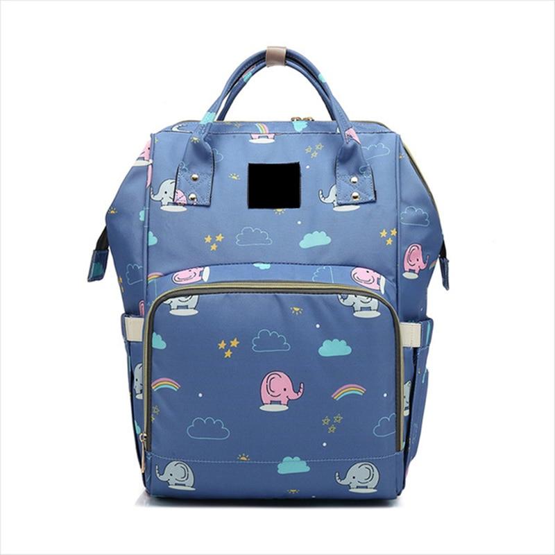 Large Capacity Unicorn Mommy Maternity Diaper Nappy Bag Printed & Solid Wet Bag Travel Backpack Desiger Nursing Baby Bag цена 2017