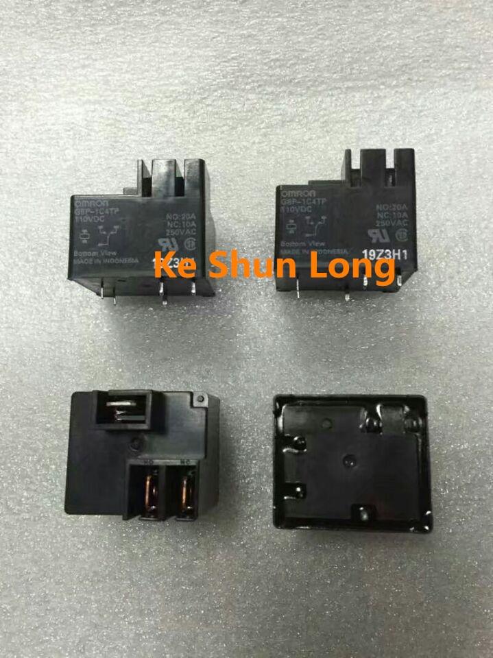 100% оригинальный новый G8P-1C4TP G8P-1C4TP-110V G8P-1C4TP-110VDC 20A 110VDC реле мощности, G8P-1C4TP-DC110V