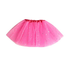Hot Summer and New Baby Kids Girls Princess Stars Sequins Party Dance Ballet Tutu Skirts Dropshipping Free Shipping M7