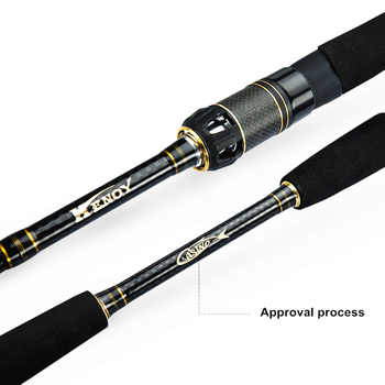 Mavllos Saltwater Carbon Spinning Rod 1.95m-2.4m Lure Weight 7-20g Fast 5-14LB Superhard Ultralight M Pole Tip Fishing Rod