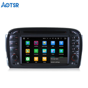 Aotsr Android 8.0 Car DVD player Headunit For Mercedes Benz SL R230 SL500 2001-2007 multimedia Navigation radio GPS 2 di image