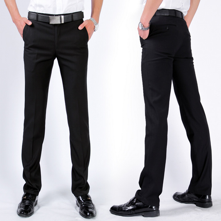 2013 male slim western style trousers business casual