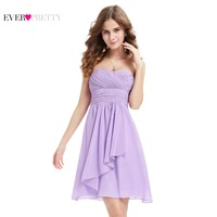 HE03540SB Sapphire Blue Sweetheart Neckline Strapless Bridemaid Dress