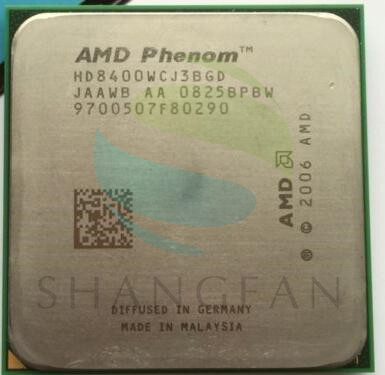 AMD Phenom X3 8400 Triple-Core DeskTop 2.1GHz CPU HD8400WCJ3BGD Socket AM2+/940pin