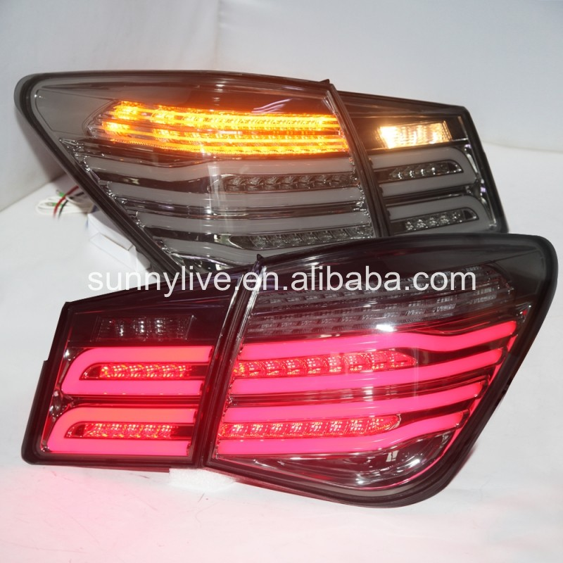 2009-2014 Cruze LED Rear Light for Mercedes- Benz  Style Chrome Housing mercedes actros 1844 2009