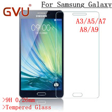 Tempered Glass For Samsung Galaxy A3 A5 A7 2015 2016 Premium Explosion Proof Anti Shatter Screen
