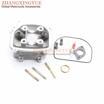 57.4mm EGR cylinder head assembly for Znen Classic ZN150T-E ZN150T-20 ZN150T-18 GY6 150cc 157QMJ 4T