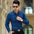 2016 высокое качество мужские рубашки с длинными рукавами рубашки с длинными рукавами большой размер футболки Розничная и оптовая БЕСПЛАТНАЯ ДОСТАВКА