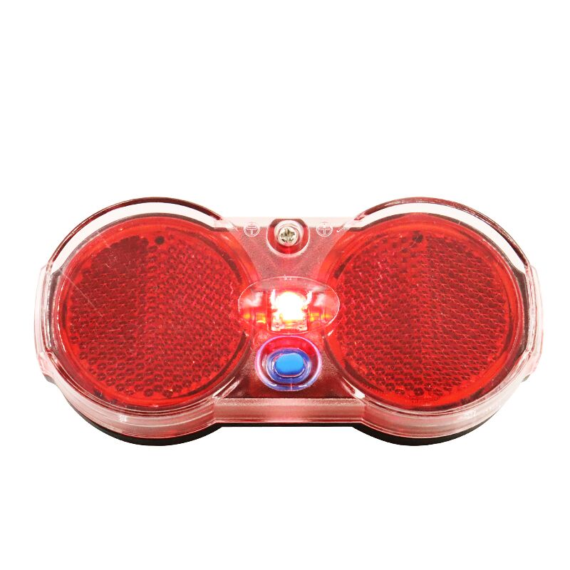 11.1CM 2.4CM 5CM Battery Power Supply Bike Light Rear Rack Red CE CCC Bicycle LED Taillight Bicycle Lighting Cycling Accessories
