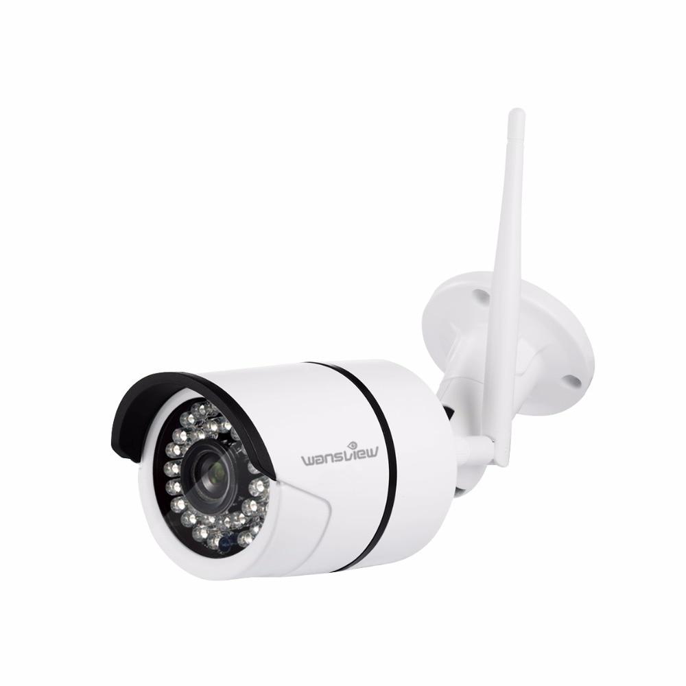 Wansview W2 Outdoor 2 0mp 30fps HD 1080P WiFi Wireless IP Security Bullet Surveillance Camera IP66