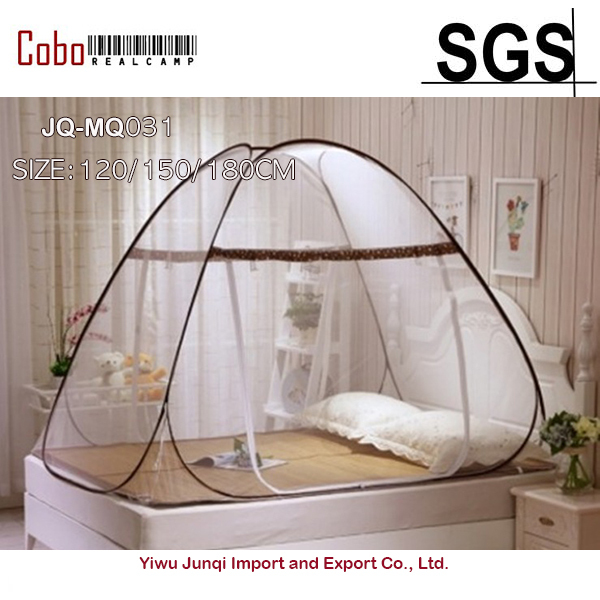Pop Up Bed Canopy Mosquito Net Full Queen King Size Netting Bedding