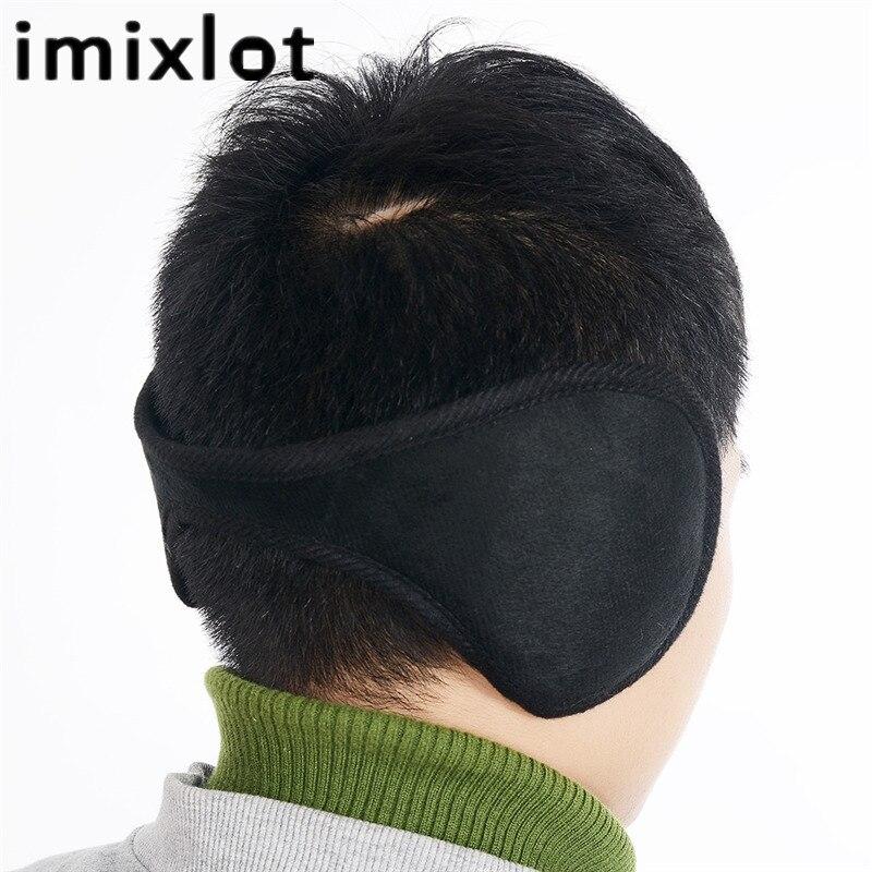 Imixlot Hot Sale Unisex Plush Ear Muffs Earflaps Winter Warm Wrap Band Ear Warmer Earlap Gift Orejeras Mujer