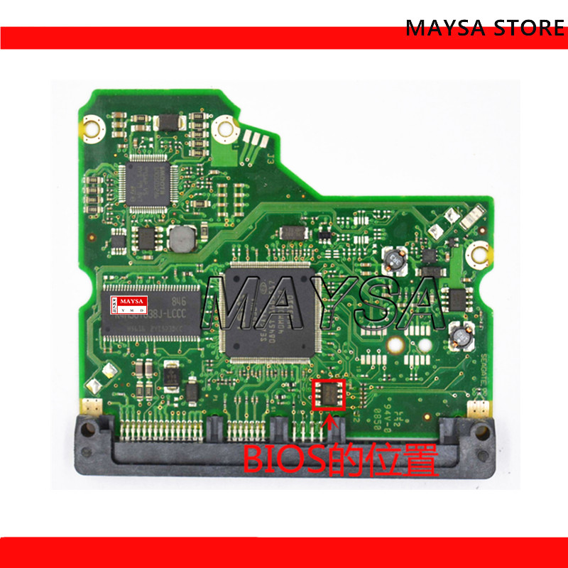 HDD PCB Logic Board/Board Number: 100530756 REV A , 100530699 , ST31000333AS ST31500341AS