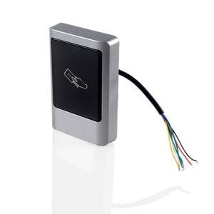 Image 3 - Su geçirmez RFID kart okuyucu ID IC Acceess kart okuyucu tedarikçisi açık kullanım Metal kasa kolay montaj