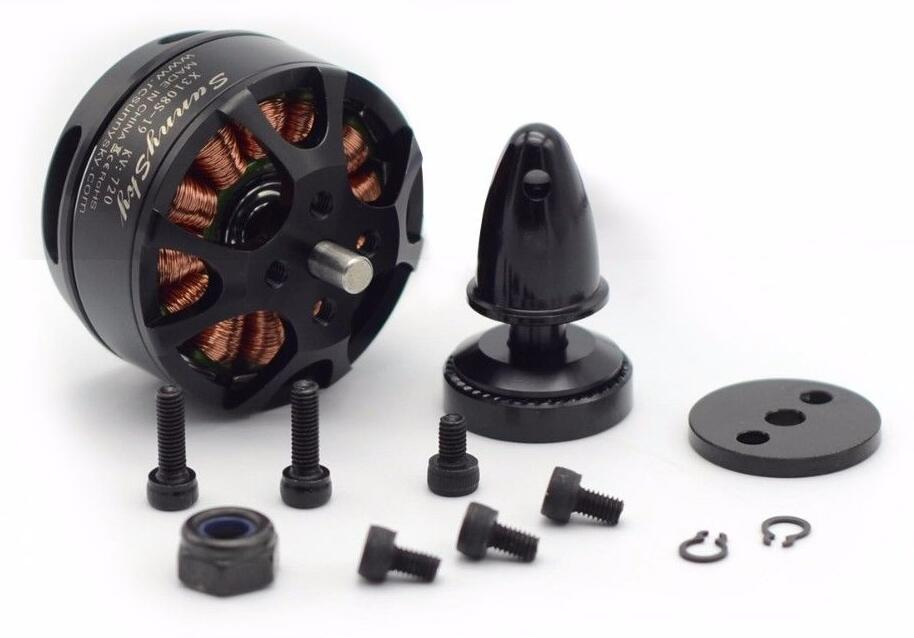 SUNNYSKY X3108S 720KV 900KV 325W Outrunner Brushless Motor Efficient Shaft Disk Motor for Multi-rotor Quad-copter