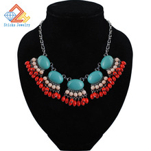 The new fashion jewelry necklace Europe exaggerated female clavicle chain woman