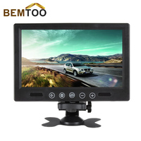 9 TFT LCD Color 800 X 480 Car Monitor 9 Inch Screen With Widescreen Remote Support