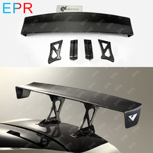 For Nissan R35 GTR Carbon Fiber GT Wing Spoiler Body Kit Car Styling Auto Tuning Part Varis Euro Edition