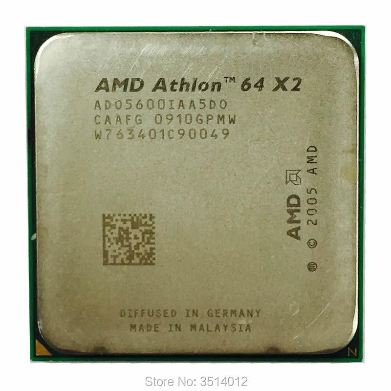 AMD Dual Core CPU Athlon 64x2 5600 2.9GHz Socket AM2 ADO5600IAA5DO