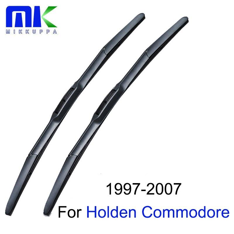 Mikkuppa стеклоочиститель лезвия для Holden Commodore VT VX В. Ю. В. З. VE VF 1997-2017 стеклоочиститель автомобильные аксессуары