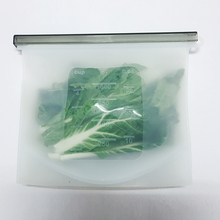 1PCS 1000Ml Reusable Ziplock Bags