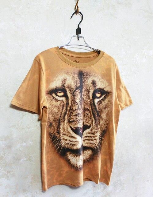 2013 summer street punk HARAJUKU lion head women's t-shirt short-sleeve tee