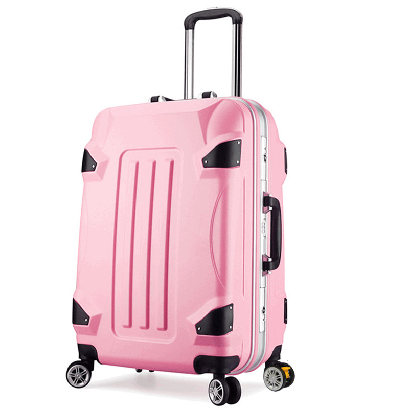 Fashion Aluminum frame Cartoon Rolling Luggage Spinner Trolley Women Boarding Box Student Travel Bag Suitcase Card Kids Trunk travel aluminum blue dji mavic pro storage bag case box suitcase for drone battery remote controller accessories