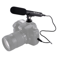 Professional Interviewing Recording Stereo Microphone For Gopro Canon Nikon DSLR Record Video Studio MIC For Camcorder