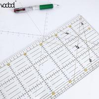 DIY Handgemaakte Patchwork Voeten Tailor Quilten Gereedschap Acryl Materiaal 60*15 cm Patchwork Meten Liniaal Naad Naaien Schaal Heersers
