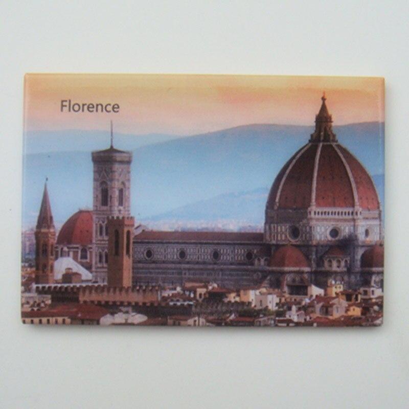 Hatıra Mıknatıslar ÜCRETSIZ Kargo, İtalya Floransa Şehir Sahne - Ev Dekoru - Fotoğraf 2