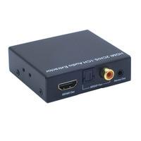 Yeni Yüksek kalite HDMI V1.4 desteği 4 K * 2 K HDMI audio extractor HDMI ses spdif dönüştürücü HD ses Dönüştürücü