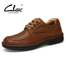 Clax Dress Shoe Men Genuine Leather Spring Autumn Men's Formal Shoes Handmade Work Shoes Comfortable