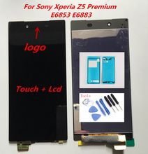 For Sony Xperia Z5 Premium LCD Display With Touch Screen Digitizer Assembly Z5P Z5 Plus E6853 E6883 Original Replacement Parts