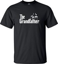 GILDAN Godfather Inspired T Shirt GrandFather For Grandpa Best Birthday Gift
