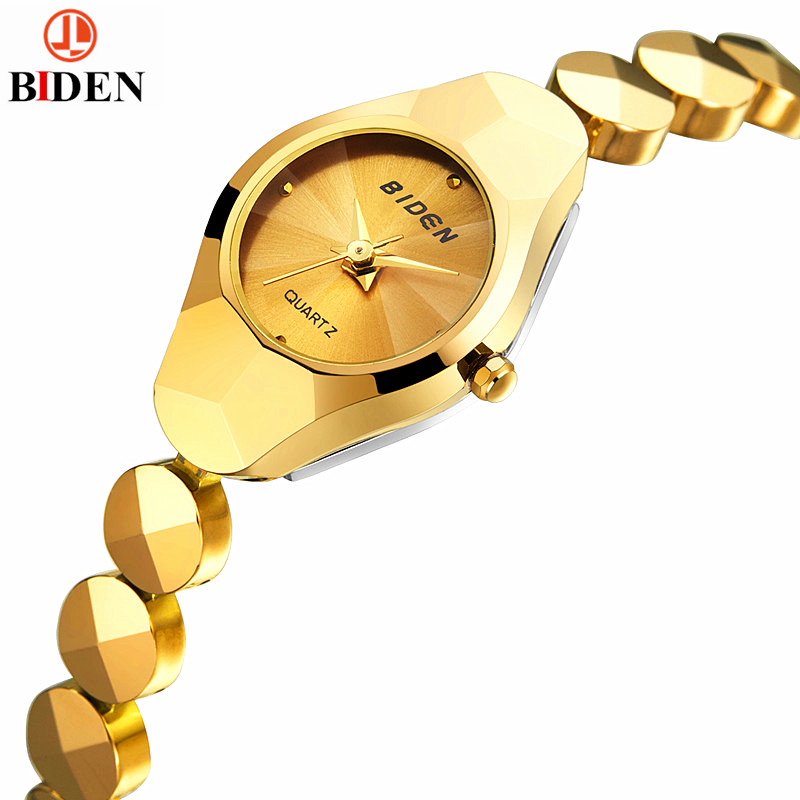 Luxury Brand Lady Gold Watches Women Tungsten Steel Wristwatches Magic Women's Bracelet Watch Ladies Wrist Watch Female от Aliexpress INT