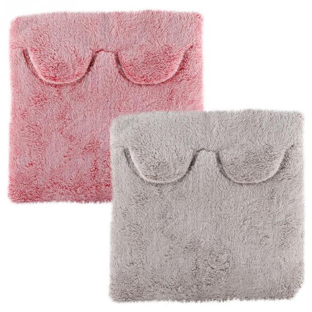 Electric Foot Warmer Heating Pad Winter Home Office Heated Slipper Warm Cushion Feet Warmer Cushion    -