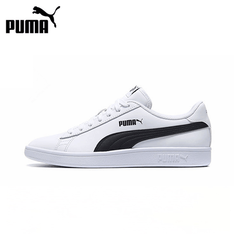 New Arrival Official PUMA SMASH Classic Hard-Wearing Men's and Womens Skateboarding Shoes Sports Sneakers Classique Comfortable рубашка мужская mexx цвет темно синий темно серый mx3000751 mn shg 011 размер m 50